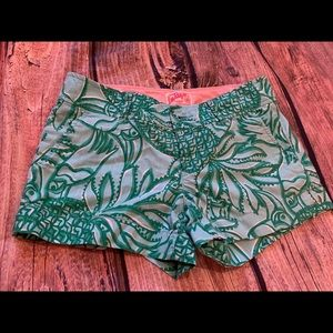 Lilly Pulitzer original shorts size 2